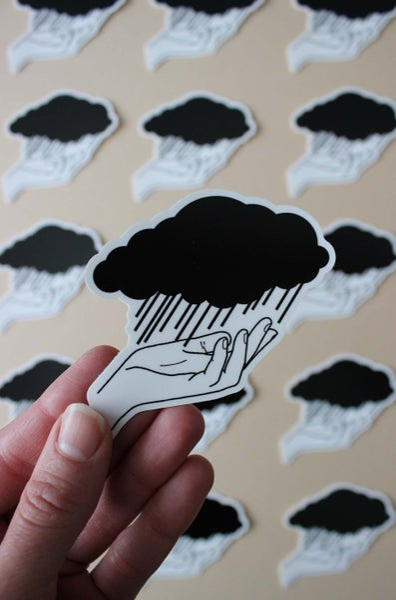 Image of Rainy Day Sticker