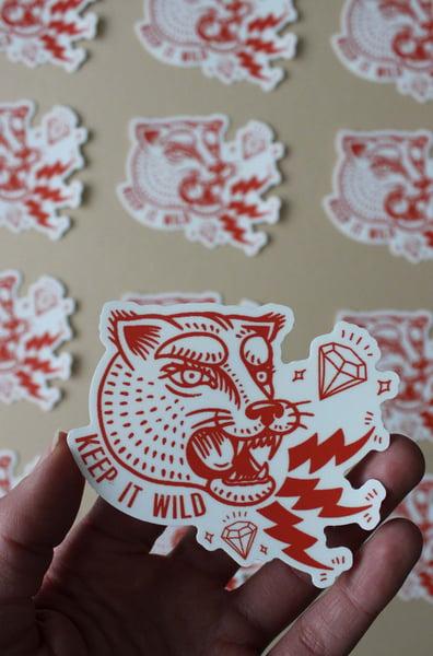 Image of Keep It Wild Sticker