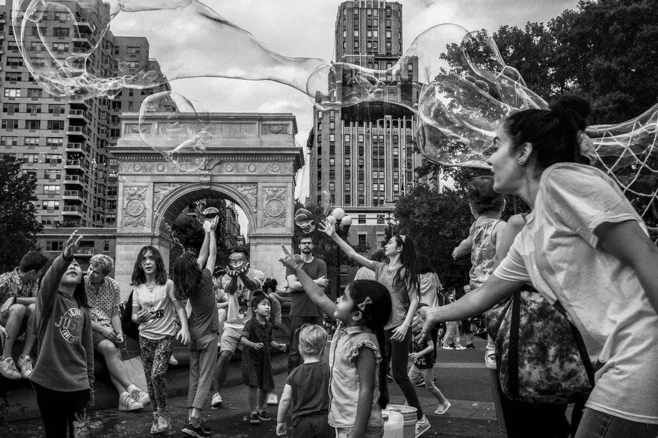 Image of Washington Square Park, NYC 2019