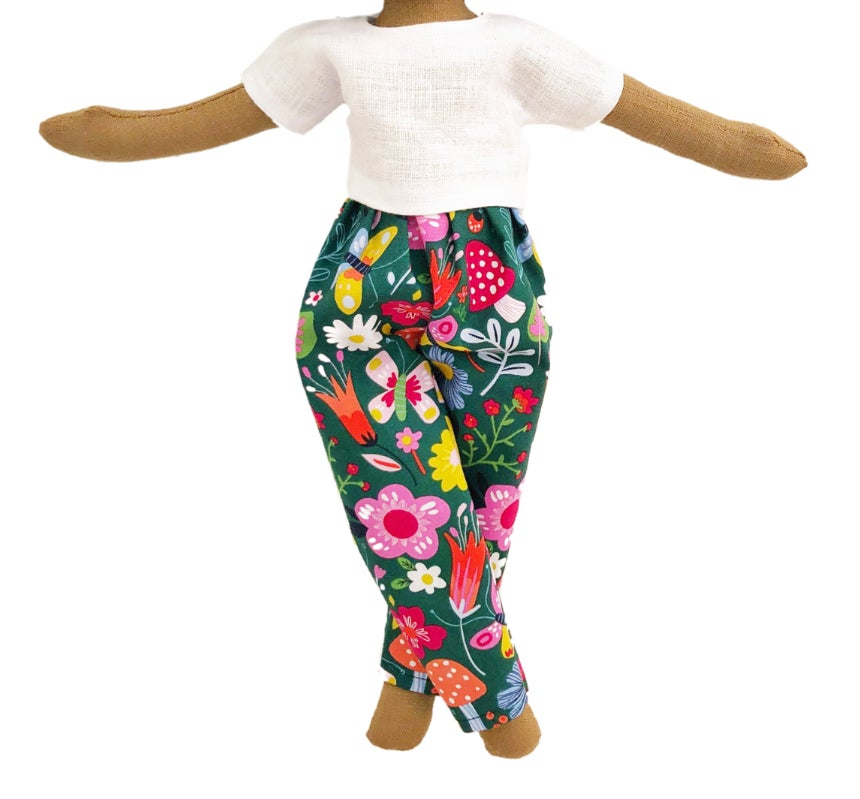 Mushroom Garden pant 2pc set (PLEASE NOTE: THIS ORDER WILL SHIP ON OR BEFORE NOV 30TH)