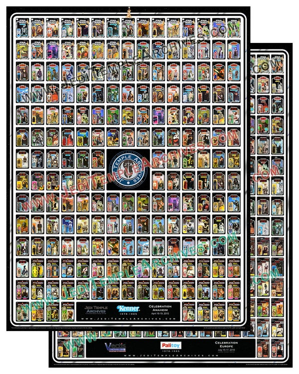 Image of POSTER SET: Kenner & Palitoy Tribute poster bundle
