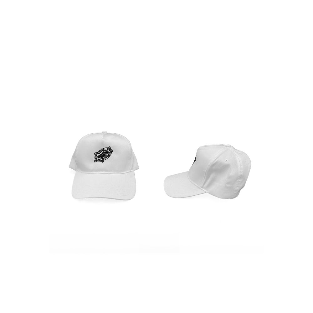 Image of White U-N-I-T-Y Cap