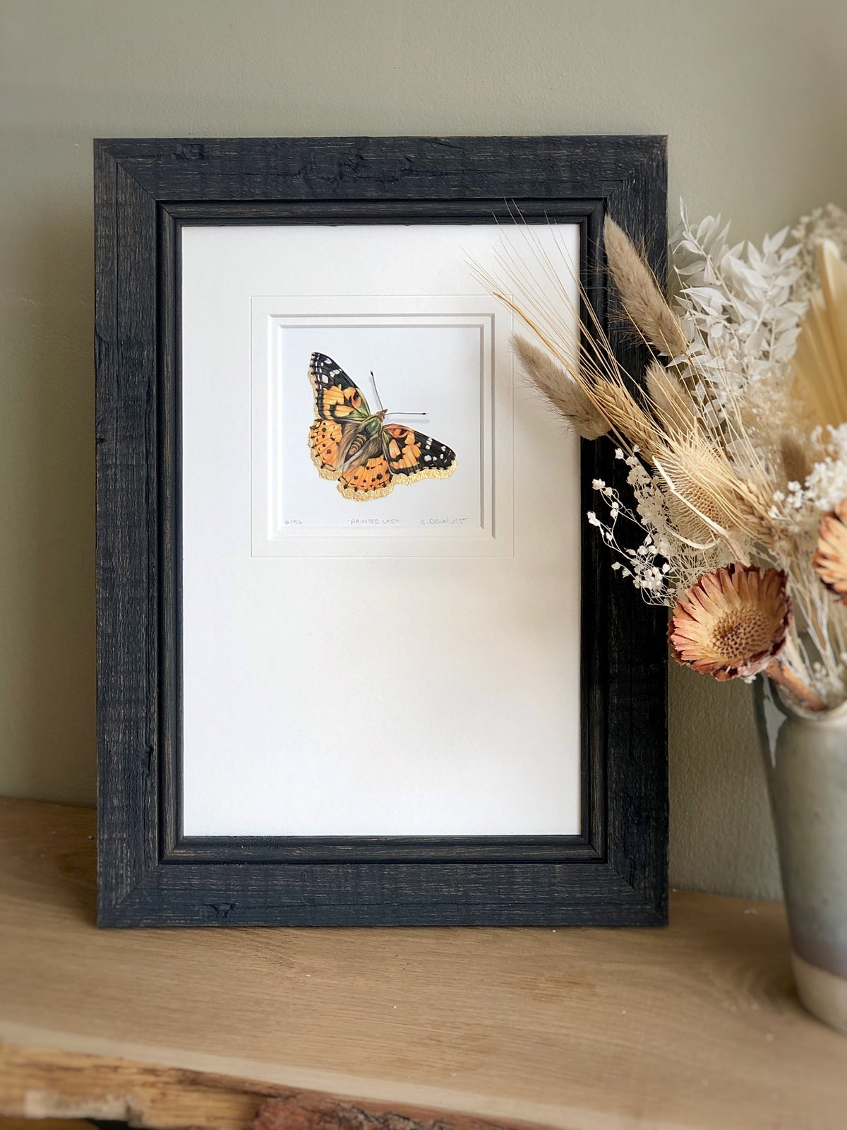 Image of 'Painted Lady Butterfly' Limited Edition Print