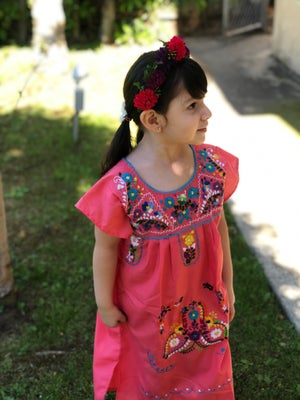 Mexican Girl Dress/Different Colors