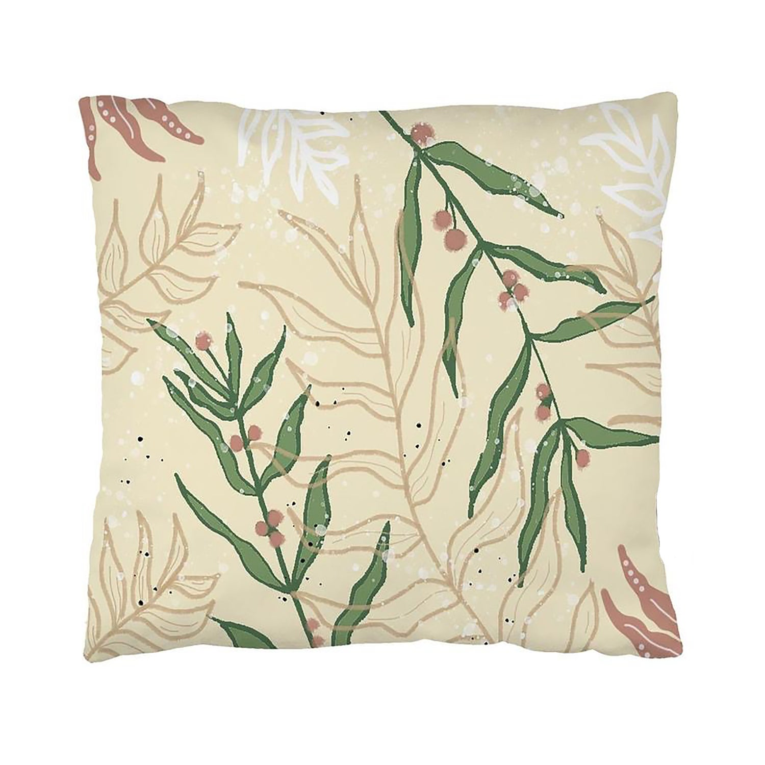 Image of Floral Decoration Pillow