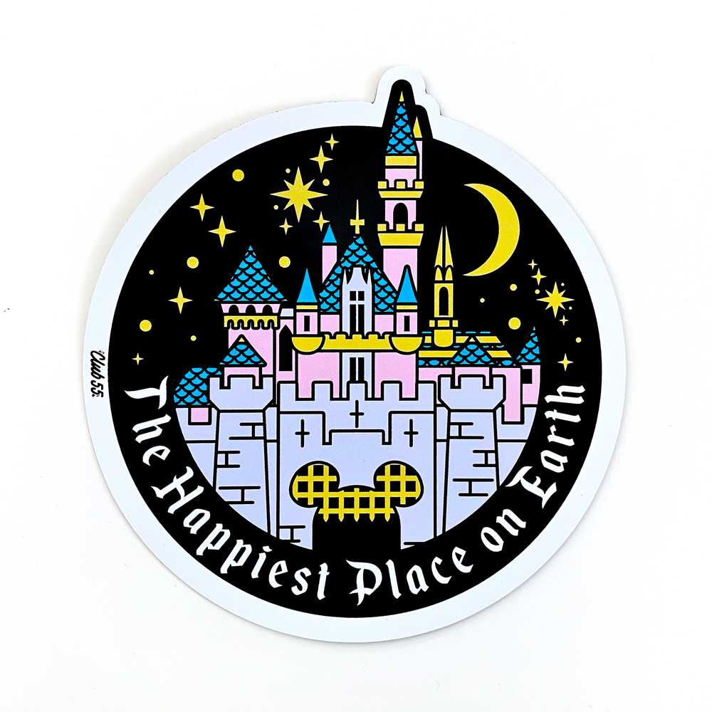 Image of Happiest Place Magnet