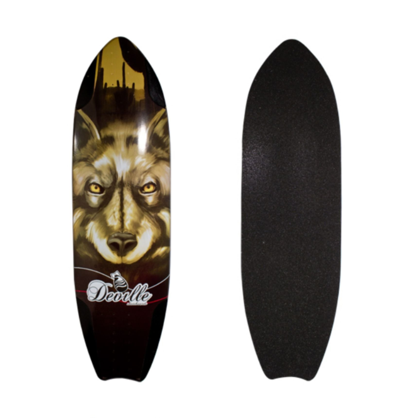 "Image of Deville Coyote Longboard Deck ""36 X ""10"