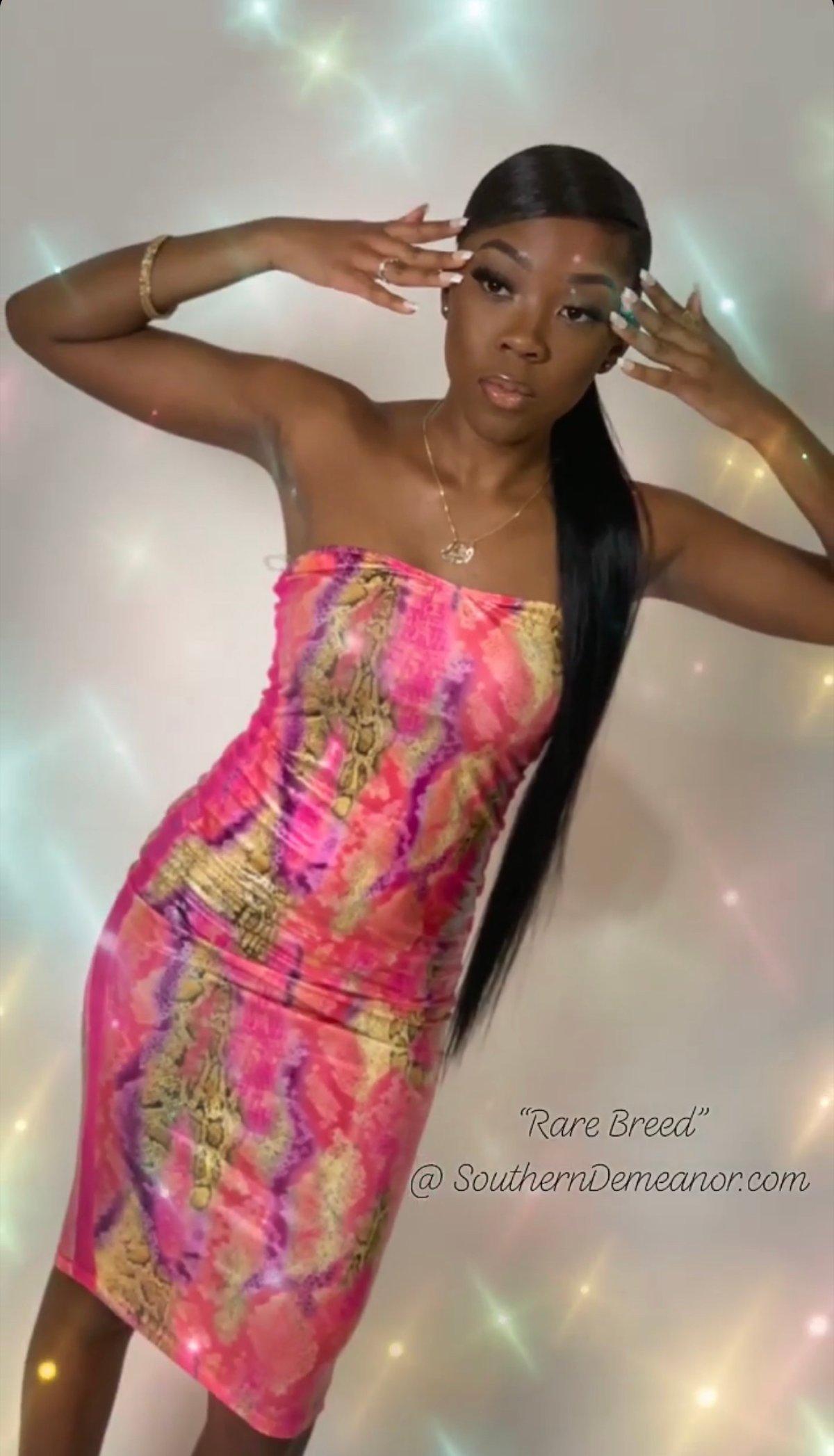 """Rare Breed"" Bodycon Dress"