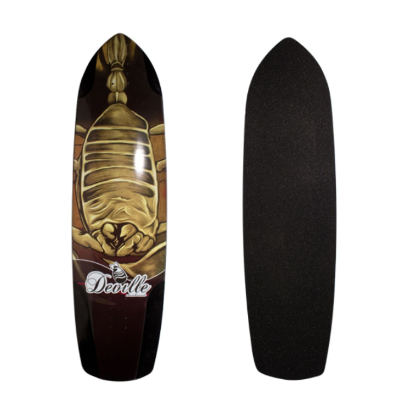"Image of Deville Scorpion Longboard Deck - 38"" X 10"""