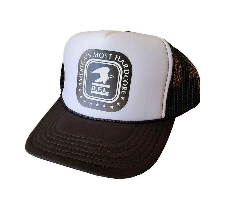 Image of AMHC Trucker - B&W