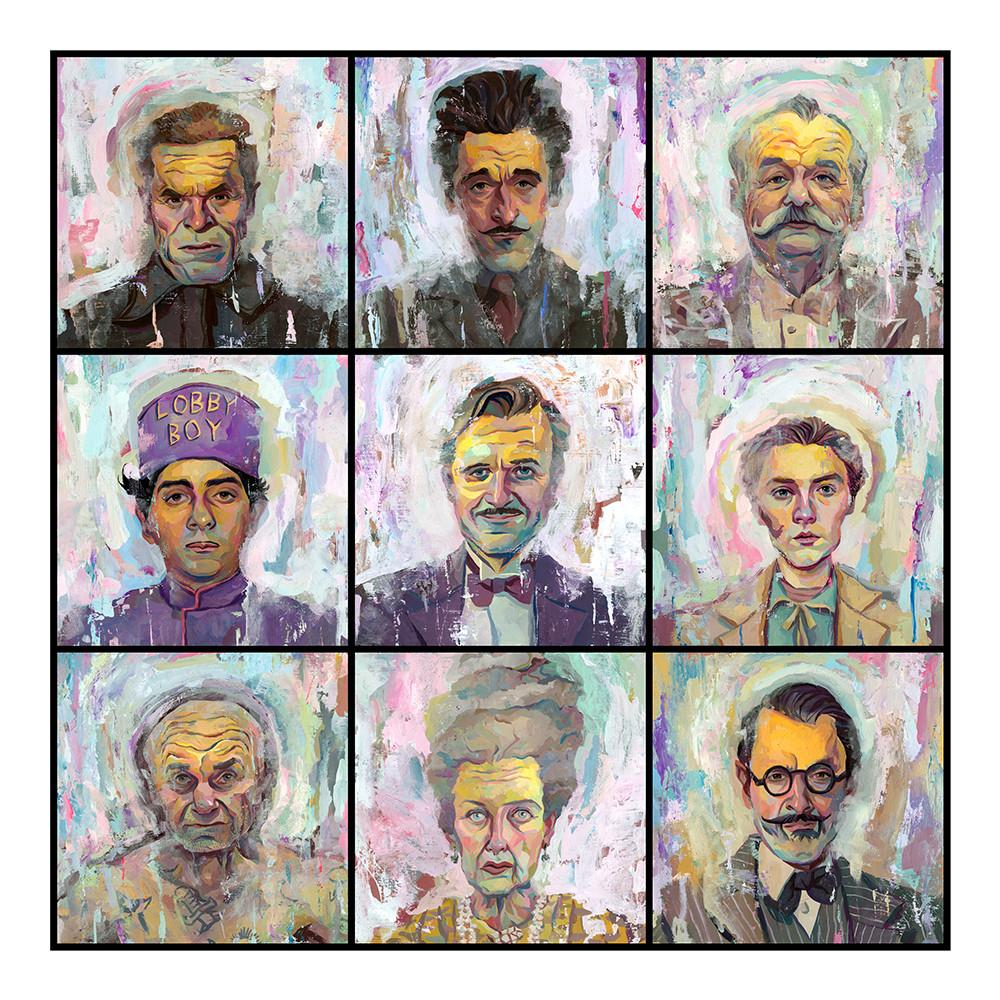 """Image of """"The Grand Budapest Hotel""""  Artist Proof"""