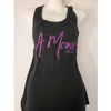 A. Monee Collection Racerback Glitter Tank Top (Purple)