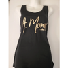 A. Monee Collection Racerback Tank Top (Gold)