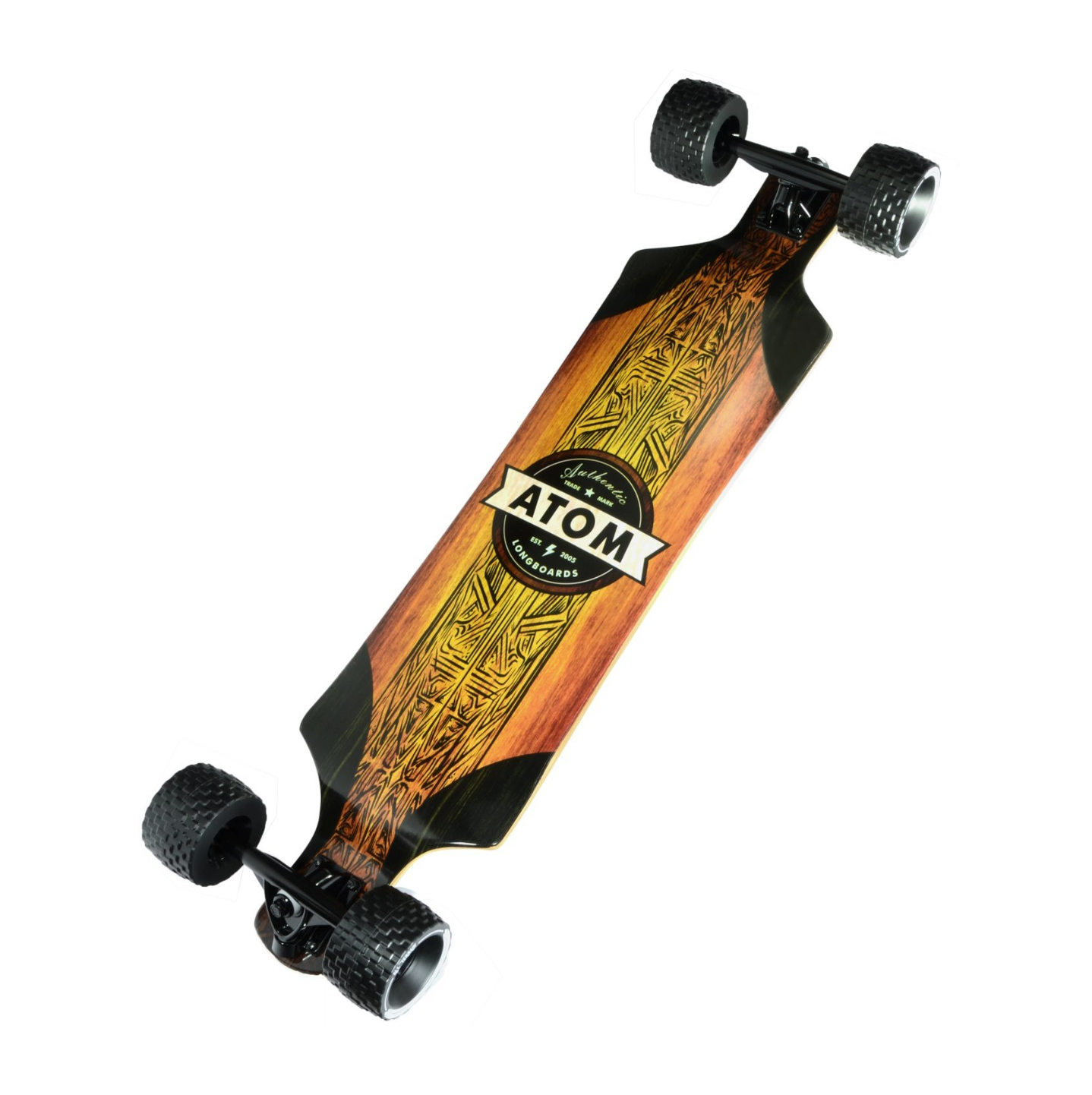 Image of Atom All-Terrain Drop Deck Longboard - 39""