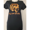 Sexy Ladies Wear Blue Glitter (Tiger's) Edition T-Shirt