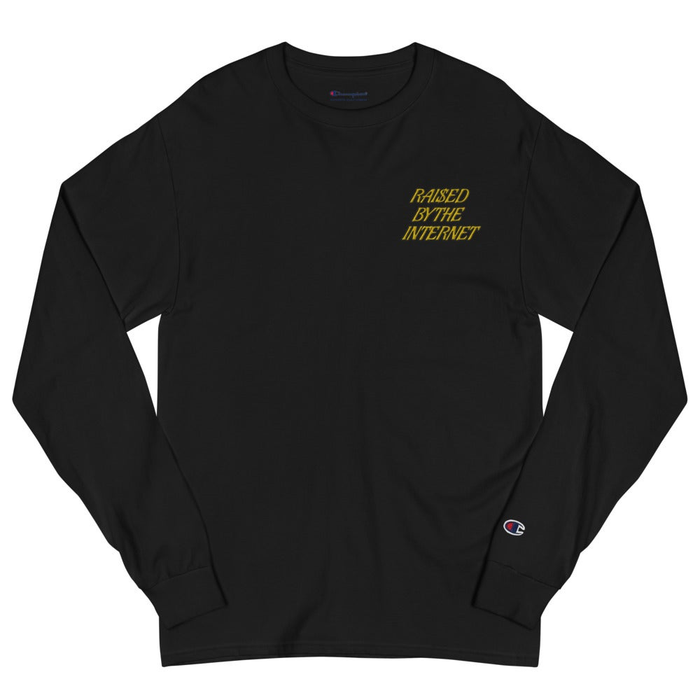 Image of Raised By The Internet Champion Long Sleeve Shirt