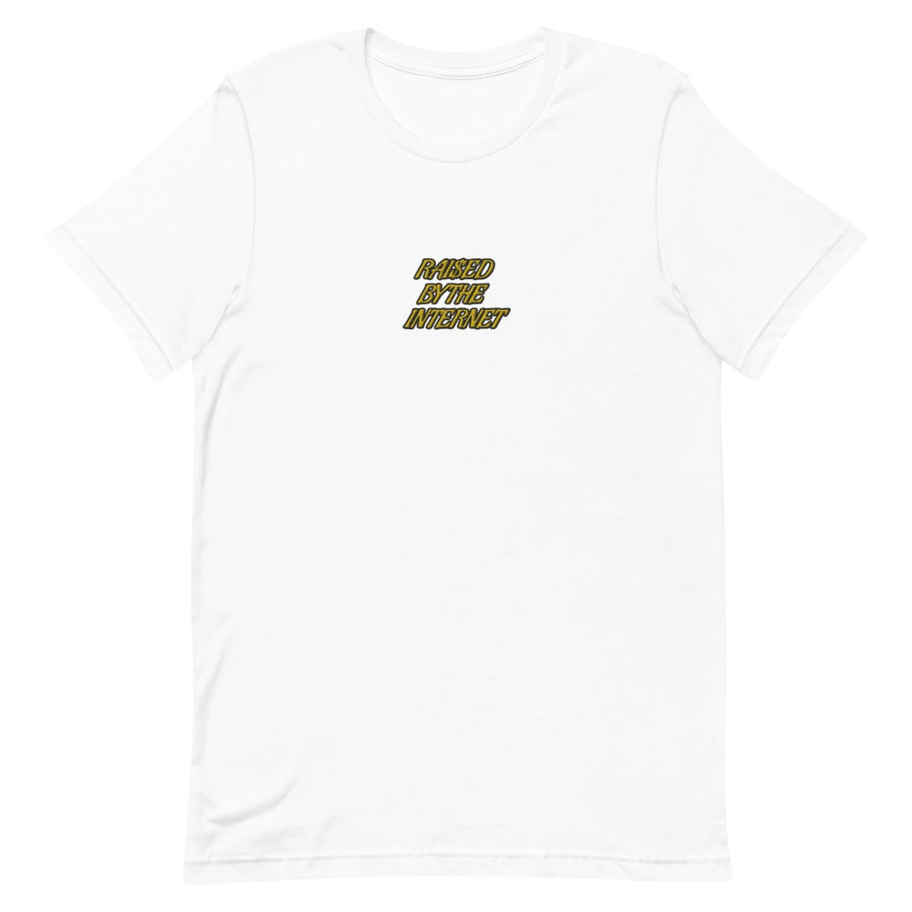 Image of Raised By The Internet Embroidered T-Shirt