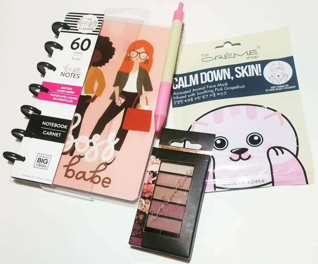 Image of Happy Notes Boss Babe Journal + Beauty Bundle