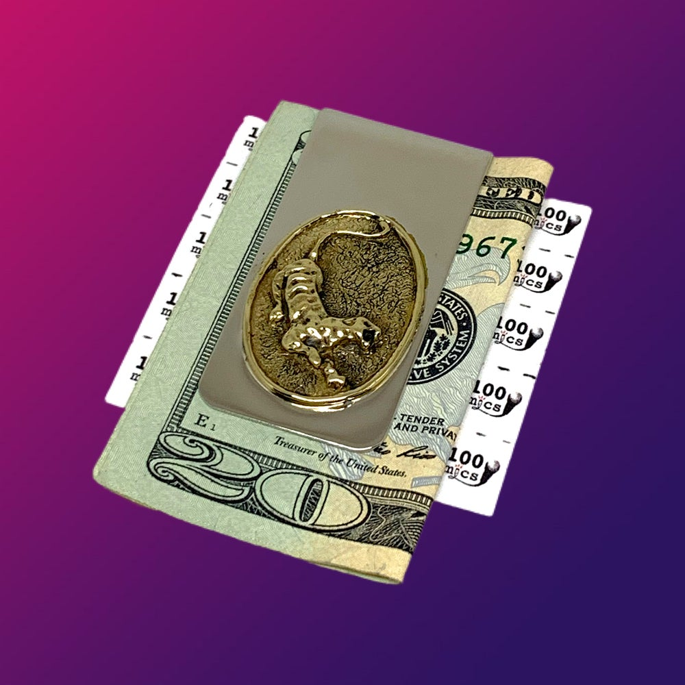 Image of Tiger Money Clip