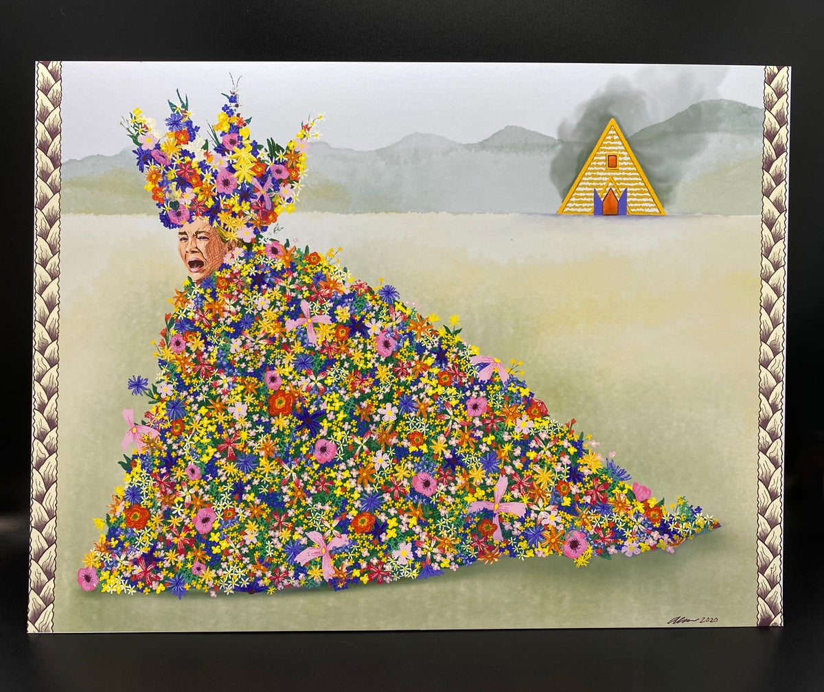 Image of Do You Feel Held By Him? - Midsommar print