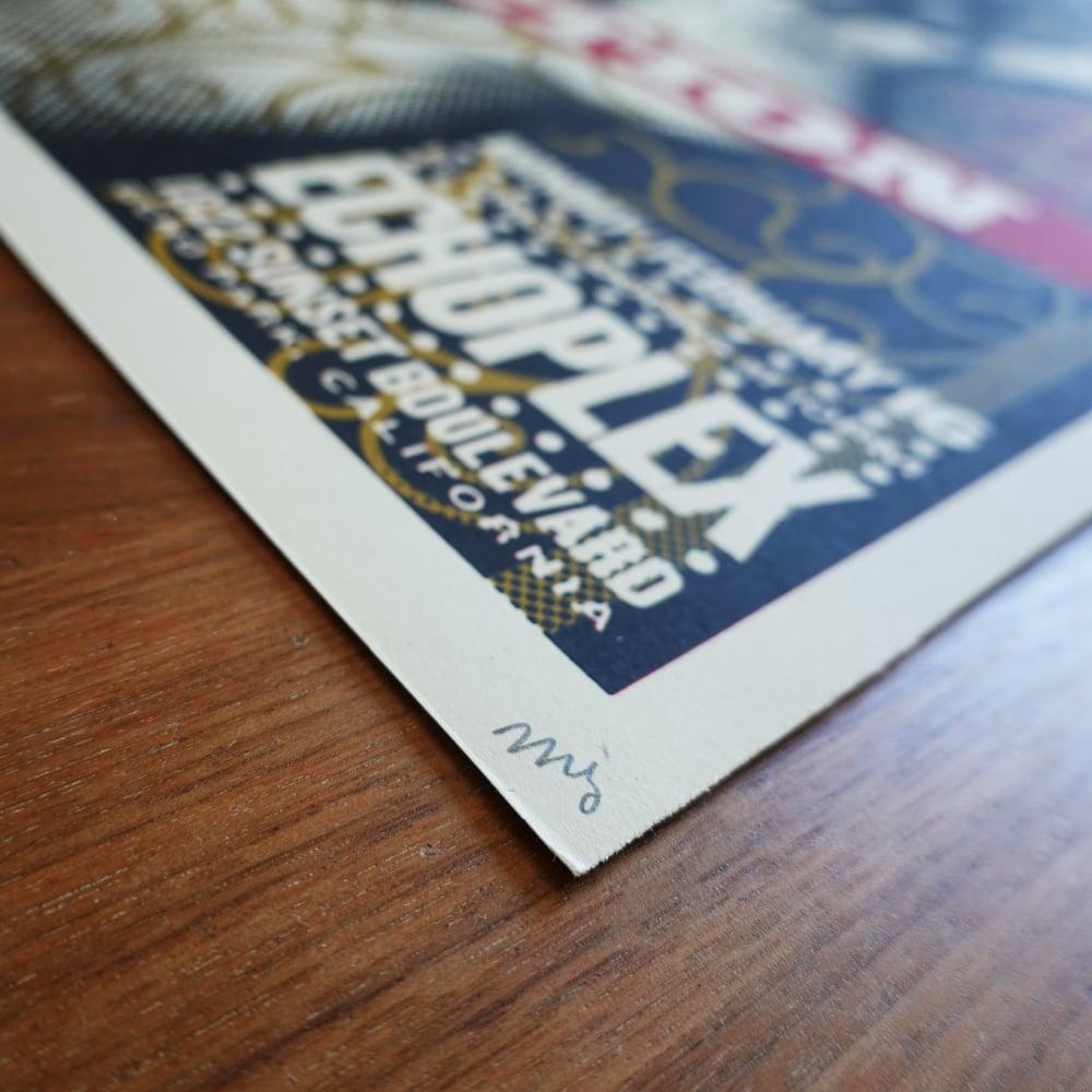 2009 Janes Addiction Show Poster | Echoplex