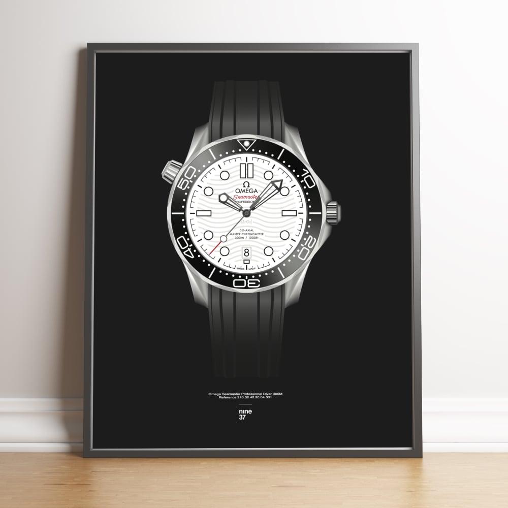 Image of Omega Seamaster 300m white dial