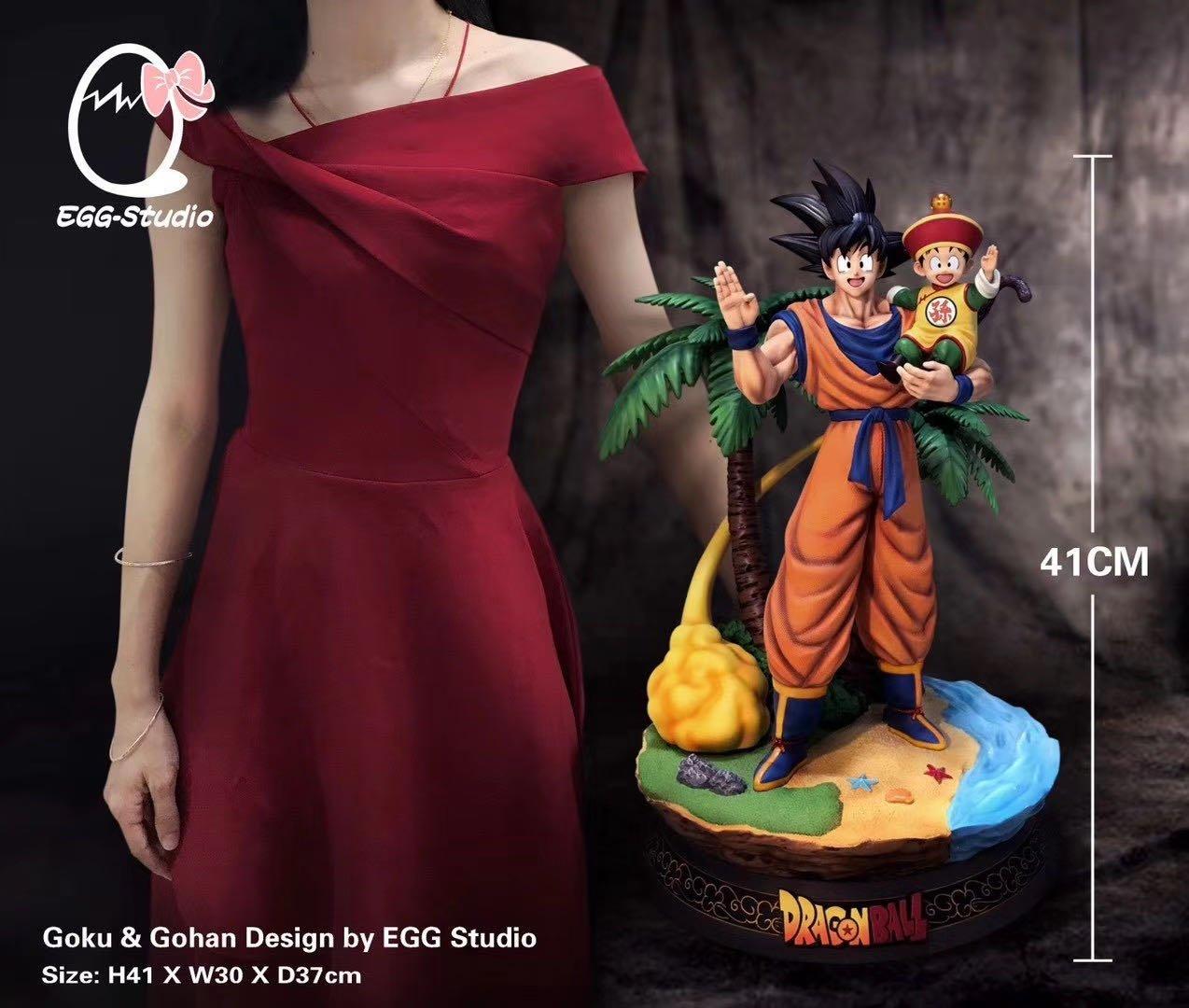 Image of [Pre-Order]Dragon Ball Z Egg Studio Goku Resin Statue
