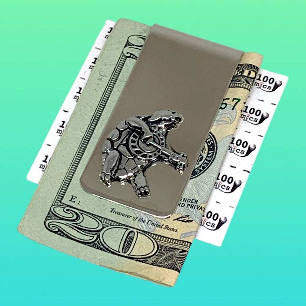 Image of Terrapin Turtle Money Clip