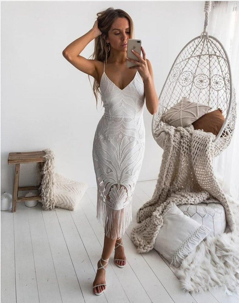 Image of Khaleesi Dress. White. Two Sisters the Label.
