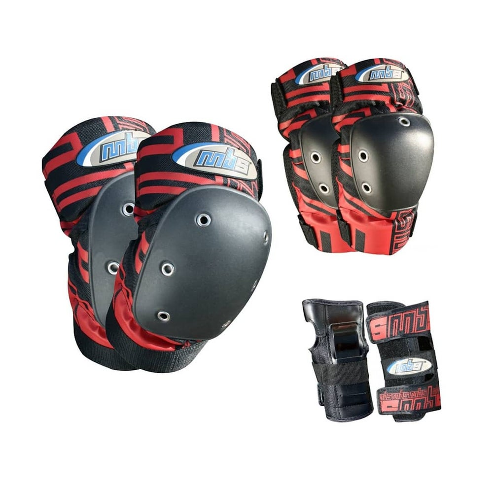 Image of MBS Pro Tri-Pack Pads - 4 Sizes/Colors
