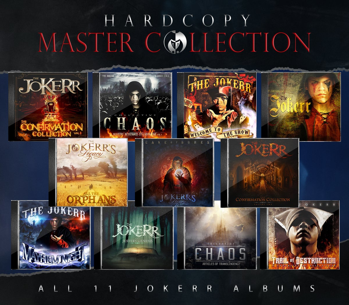 Image of THE JOKERR'S HARDCOPY MASTER COLLECTION 11