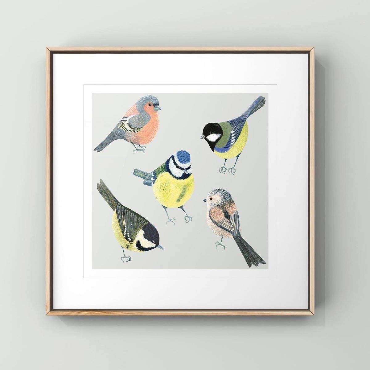 The Garden Birds Limited Edition Print
