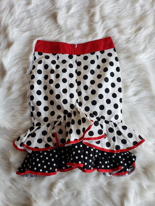Image of Polka Dot Skirt