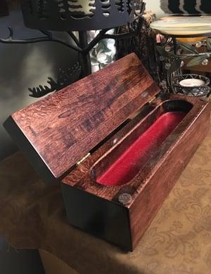 Image of Reclaimed Wood Keepsake Treasury Box, Bass Wood Gift Box, Small Trinket Box, Heirloom Memory Box