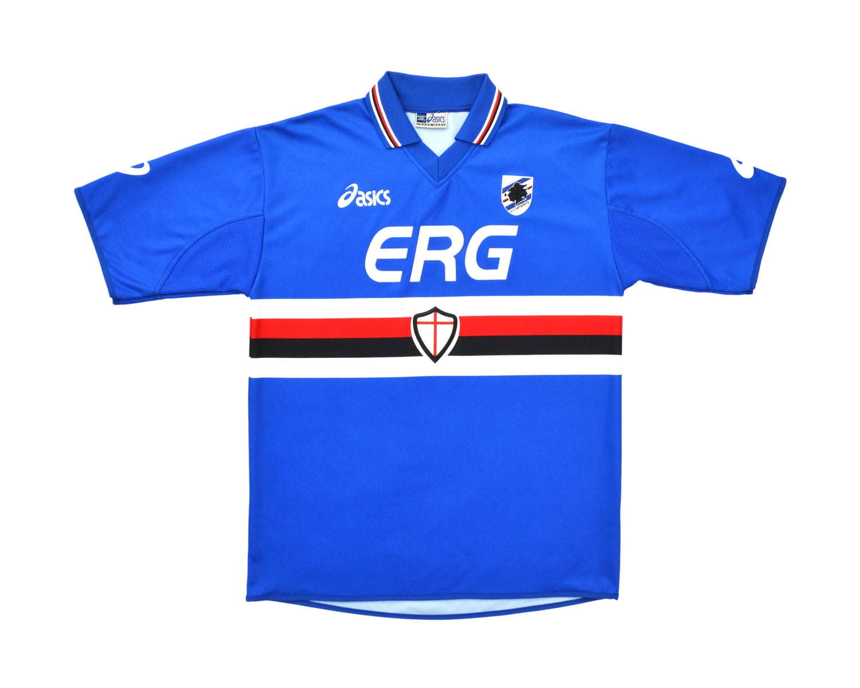 Image of 2003-04 Asics Sampdoria Home Shirt L