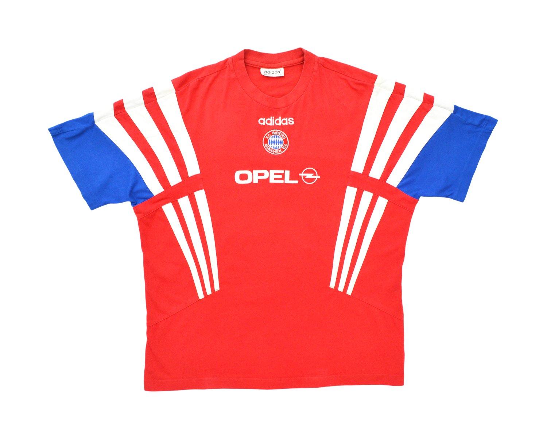 Image of 1995-97 Adidas Bayern Munich Player Issue Training Shirt L