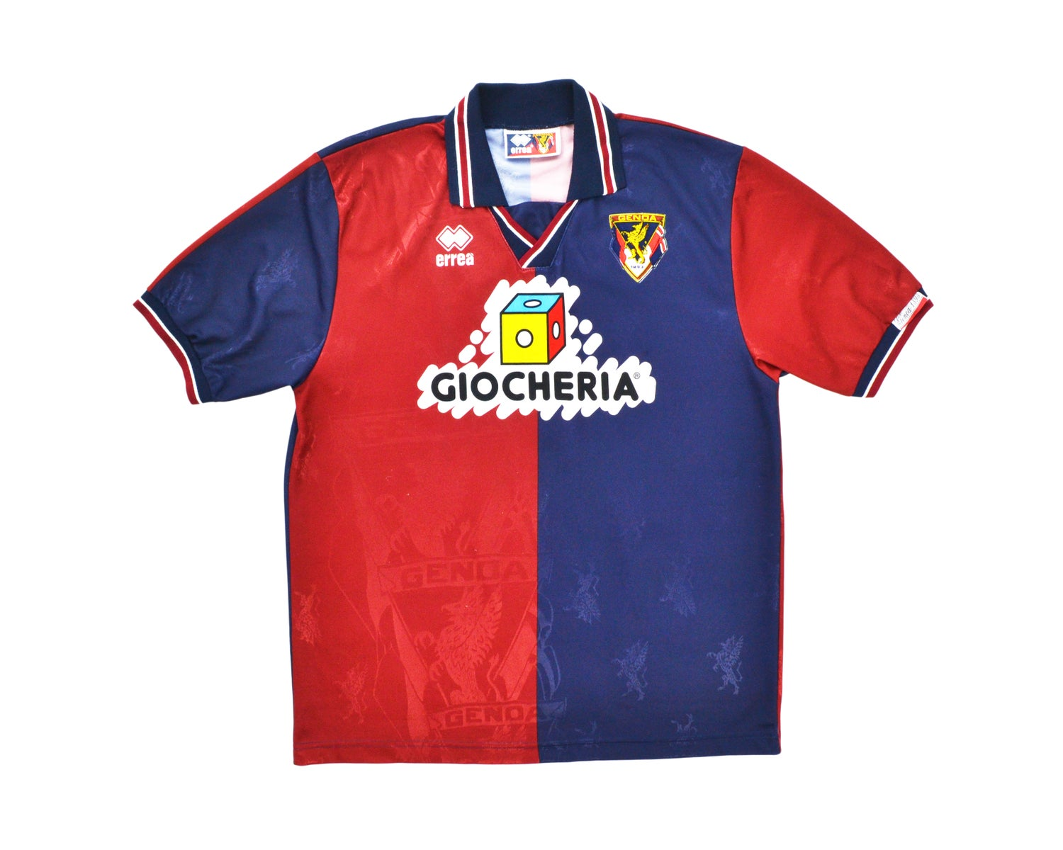 Image of 1995-96 Errea Genoa Home Shirt '7' L