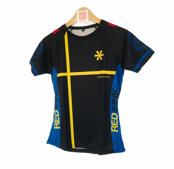 Image of CAMISETA TÉCNICA BLUE/GOLD MUJER