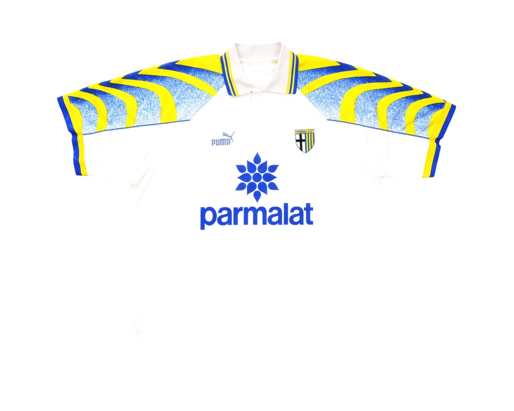 Image of 1995-97 Puma Parma Home Shirt XL