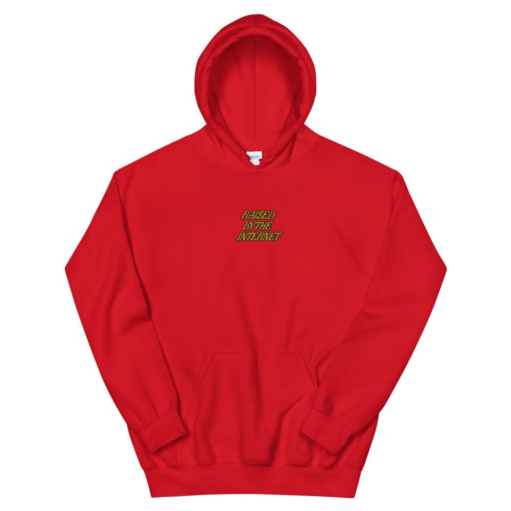 Raised By The Internet Embroidered Hoodie