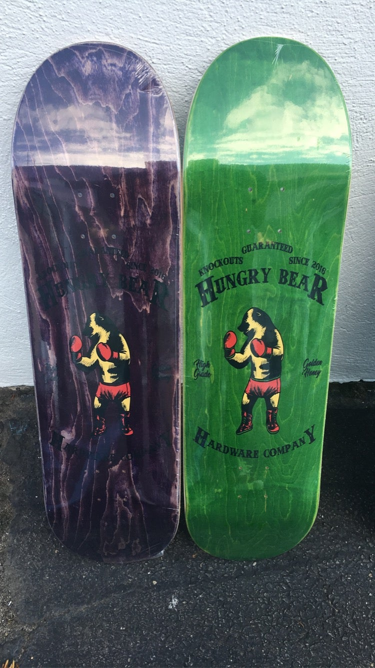 """Image of Hungry Bear """"knock outs"""" Deck"""
