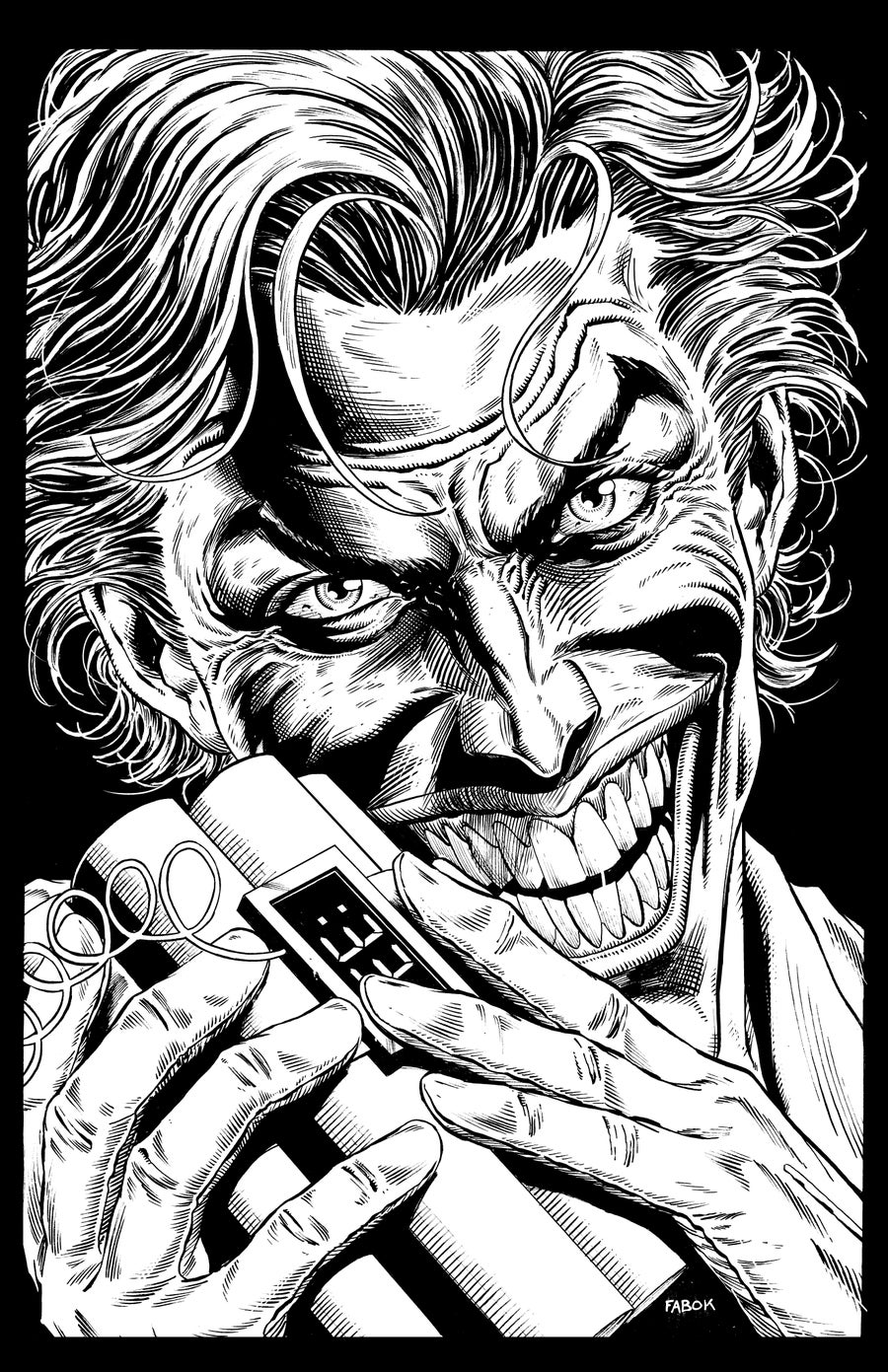 Image of Batman: Three Jokers Book 1 Premium Variant:  Joker with Bomb