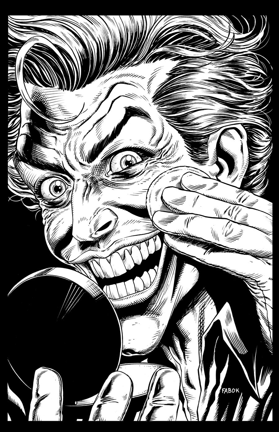 Image of Batman: Three Jokers Book 2 Premium Cover: Joker with Make-Up