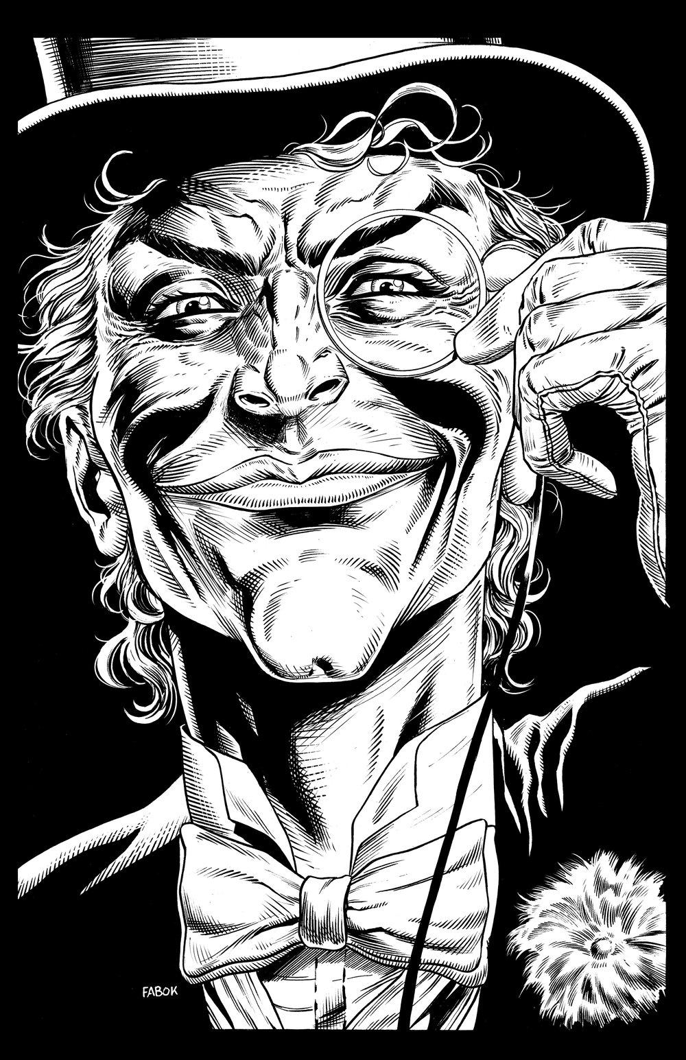 Image of Batman: Three Jokers Book 2 Premium Cover: Ambassador Joker