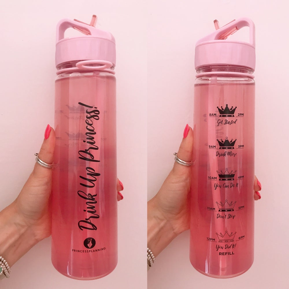 Image of OFFICIAL PRINCESS PLANNING 900ml TRACKER WATER BOTTLE