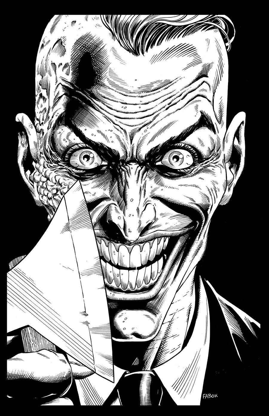 Image of Batman: Three Jokers Book 3 Premium Cover: Endgame Joker