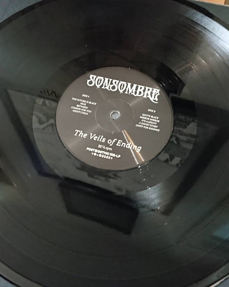Image of SONSOMBRE - THE VEILS OF ENDING PRESSING TEST