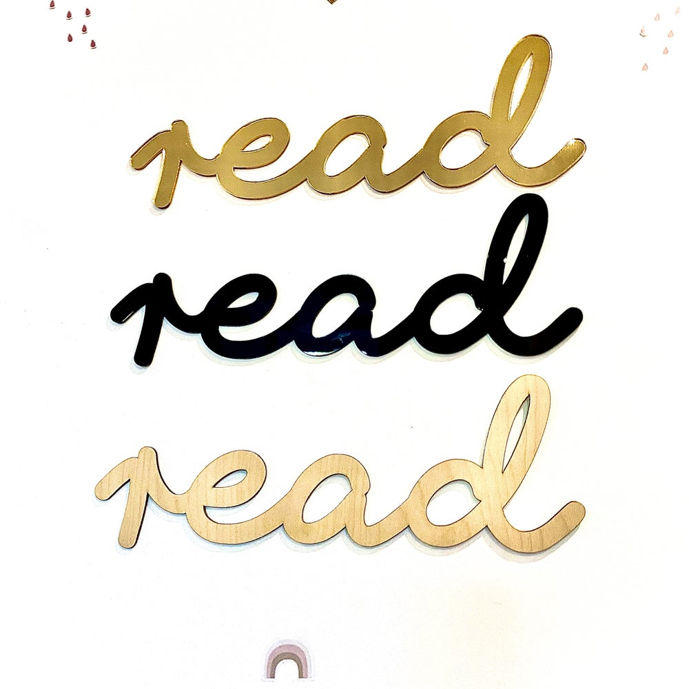 Image of Read Sign