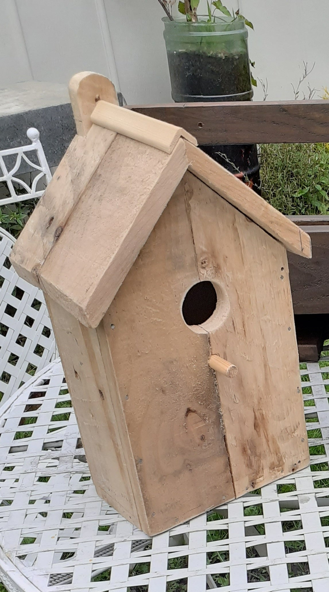 Image of RSPB Standard Bird Houses... Hand Made