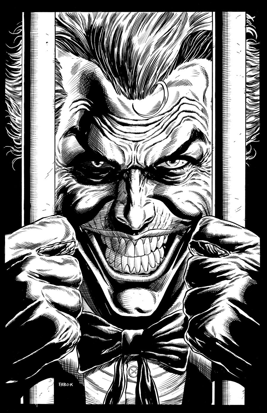 Image of Batman: Three Jokers Book 2 Premium Cover: Joker Behind Bars